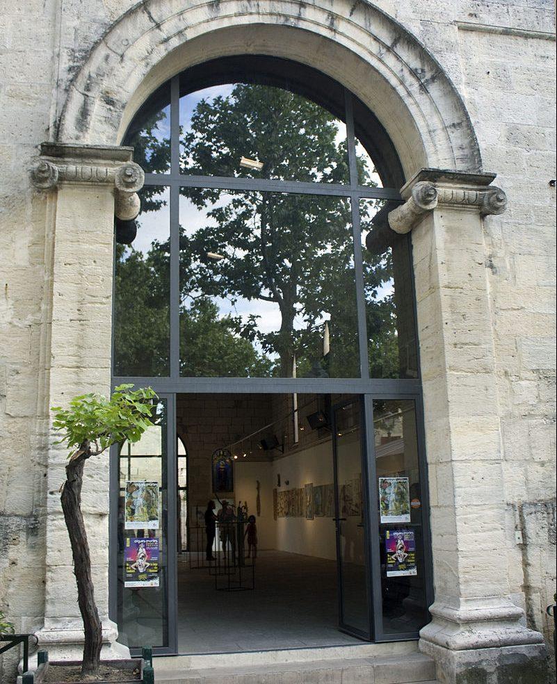Chapelle des Capuncins à Aigues-Mortes
